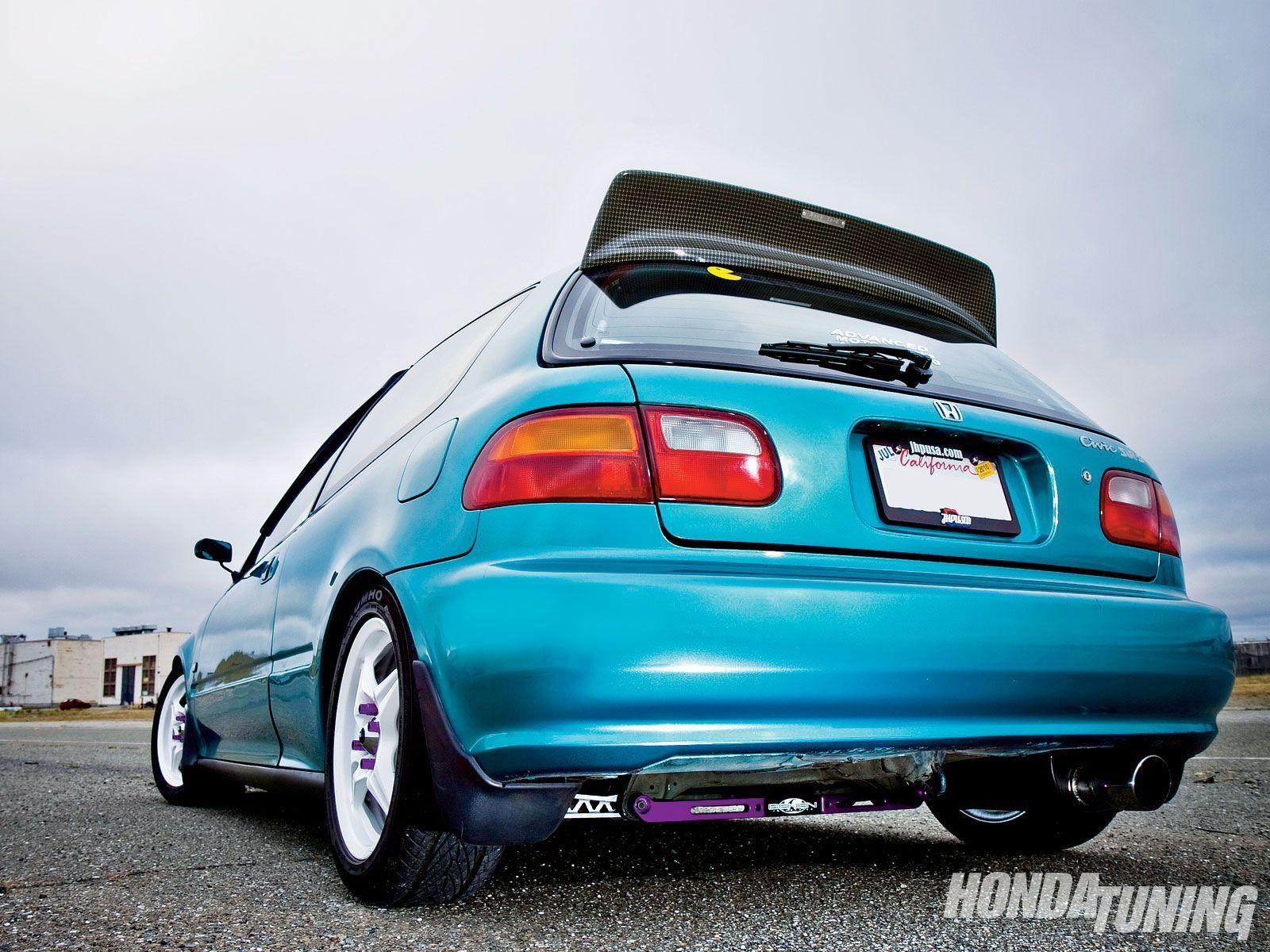 1992 Honda Civic Hatchback