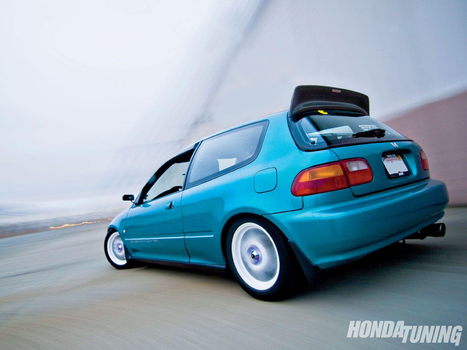 1992 Honda Civic hatchback v – pictures, information and specs