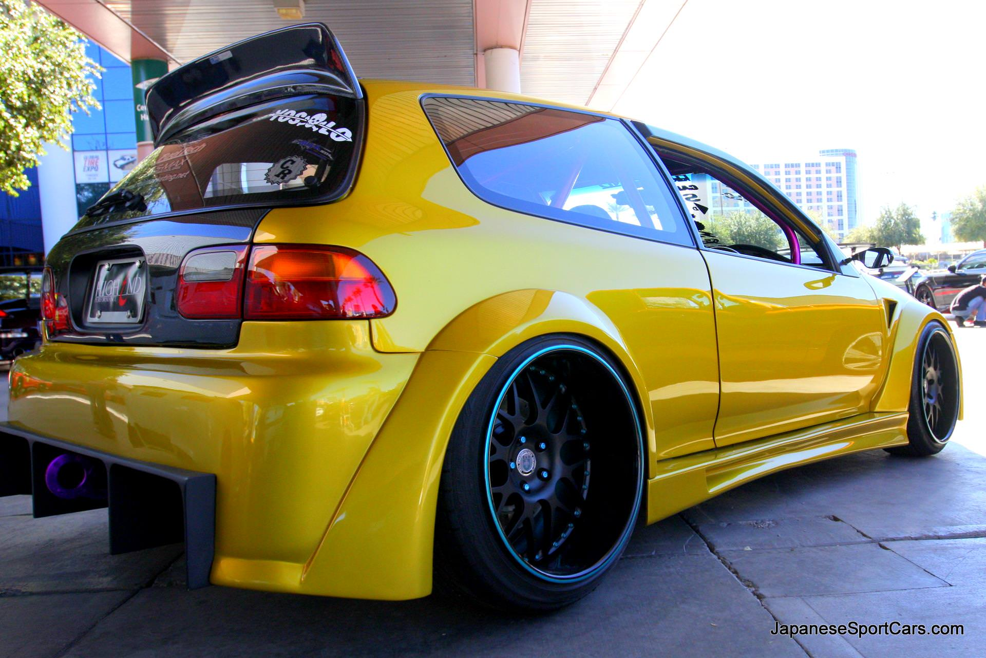 Custom Honda Civic Hatchback Wallpapers