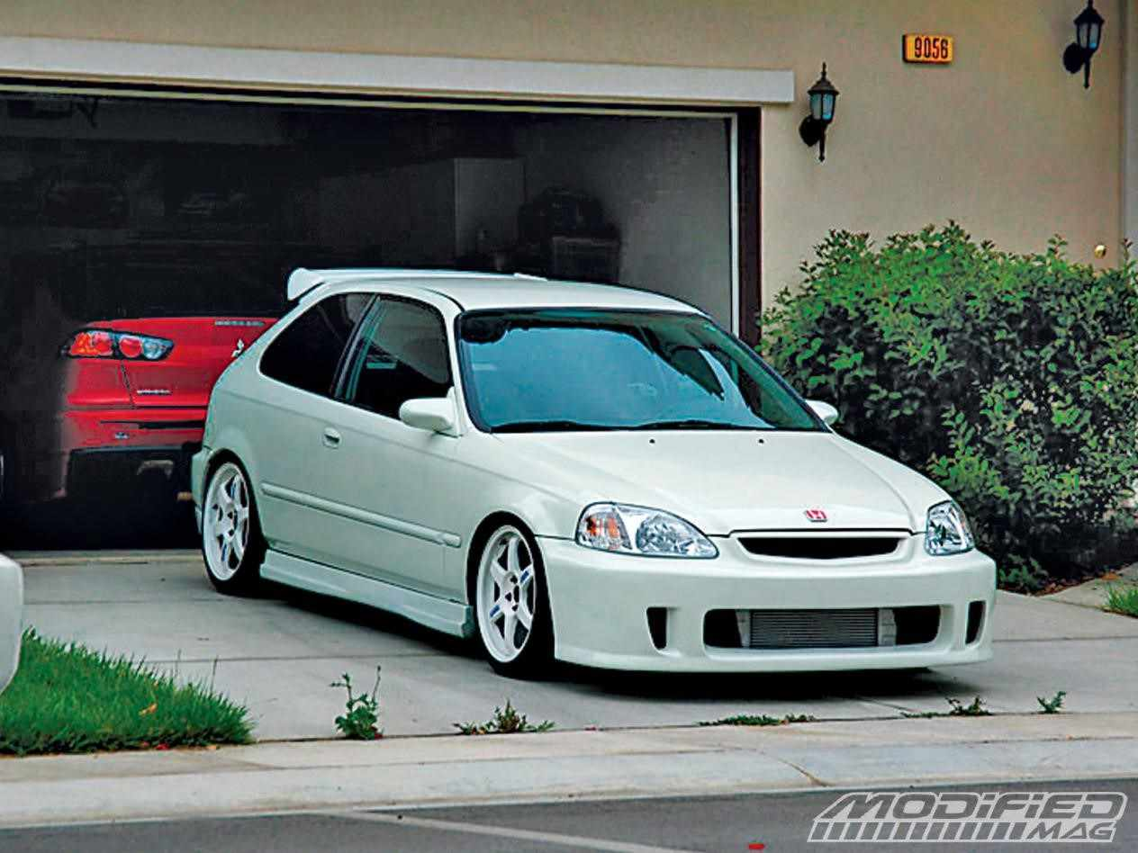 Purple Honda Civic Hatchback Modified – Best Car Model Gallery