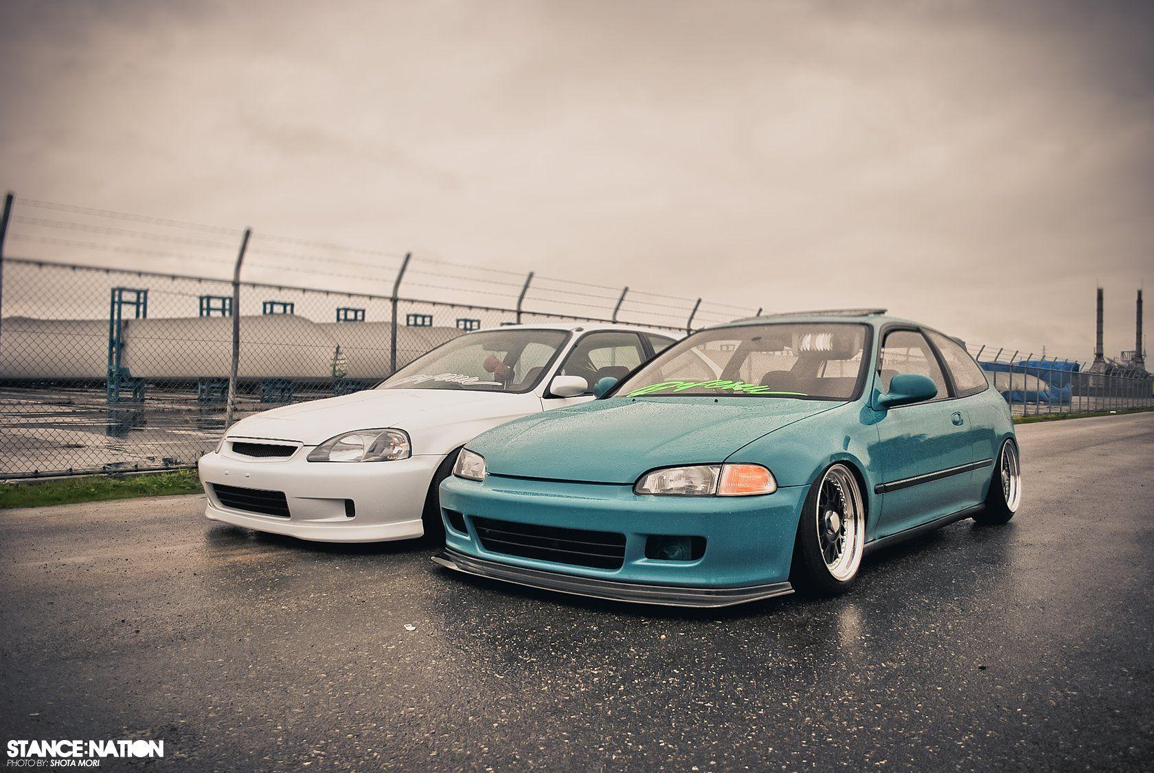 HONDA EG6 Civic tuning custom wallpapers