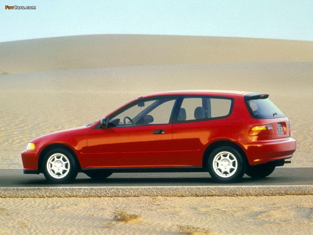 Honda Civic Hatchback US