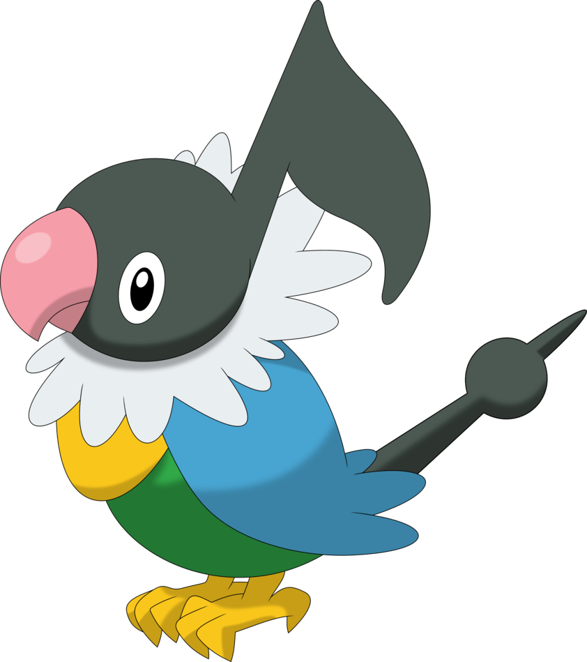 Chatot by Porygon2z on DeviantArt