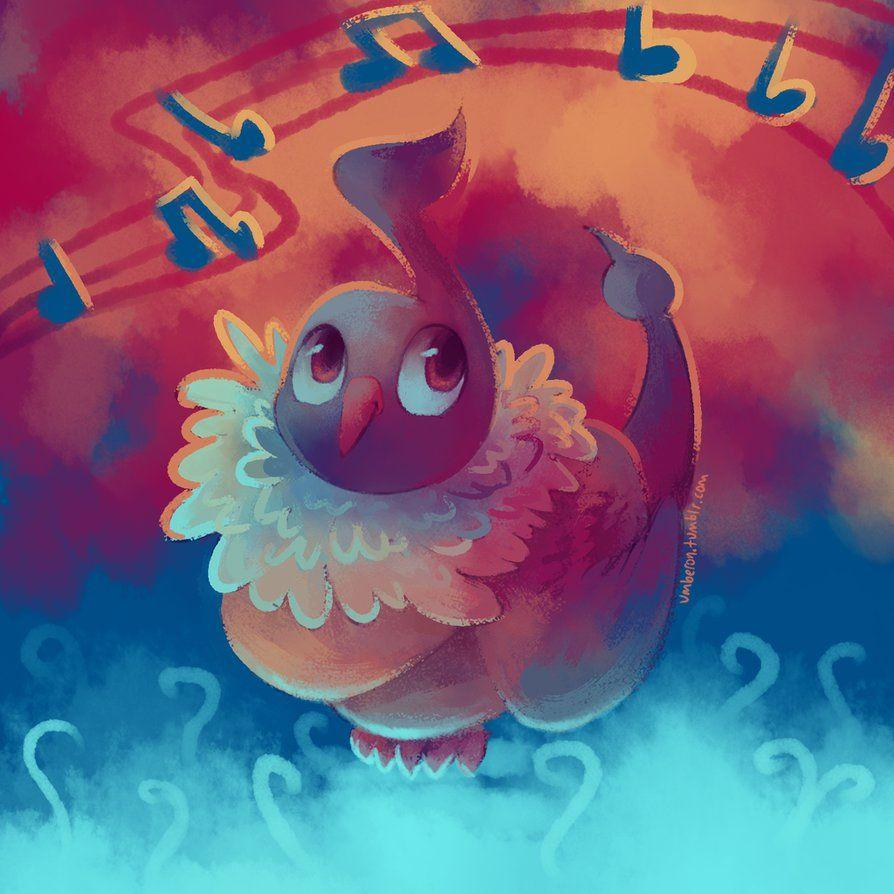POKEDDEXY: Chatot by Umberoff on DeviantArt