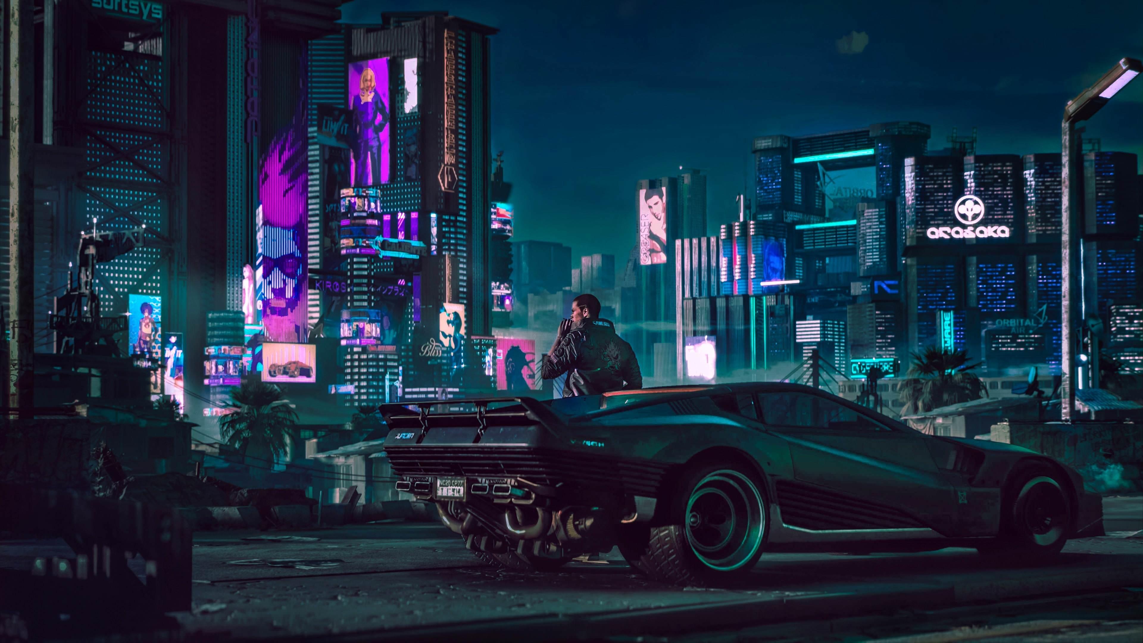 Cyberpunk 2077 HD Wallpapers - Wallpaper Cave