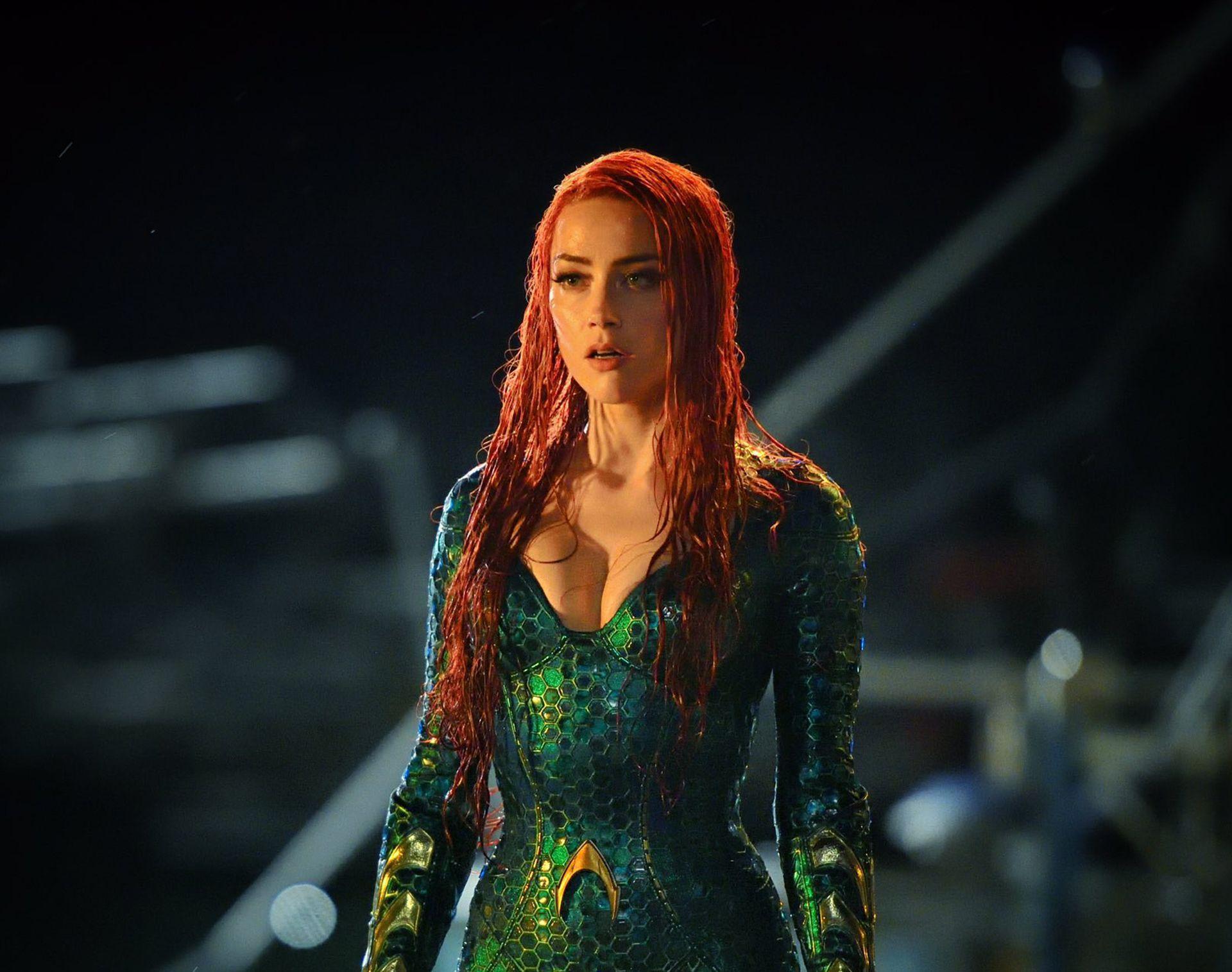 Aquaman Amber Heard Wallpapers Wallpaper Cave