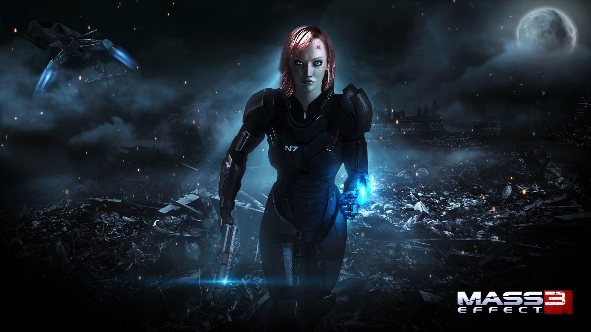 Shepard Mass Effect Wallpapers Wallpaper Cave