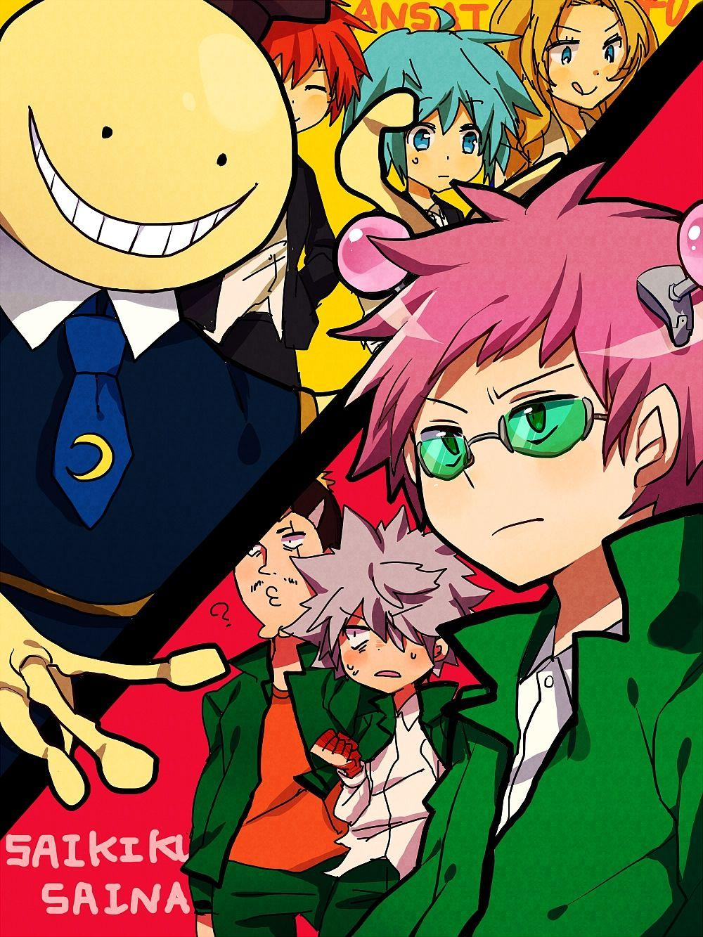 The Disastrous Life Of Saiki K Wallpapers Wallpaper Cave