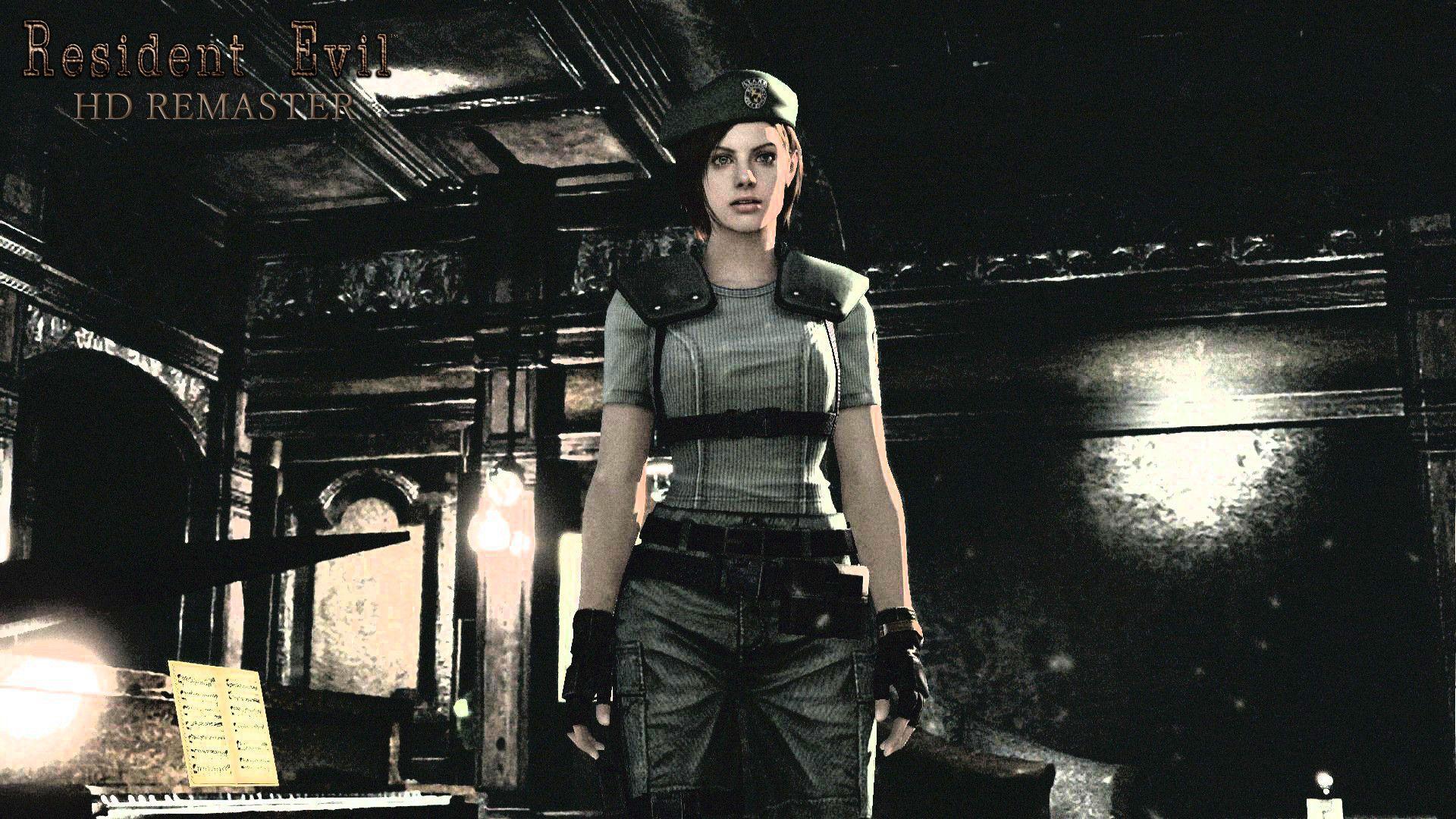 Resident Evil Revelations Jill Valentine Wallpapers Hd Wallpaper