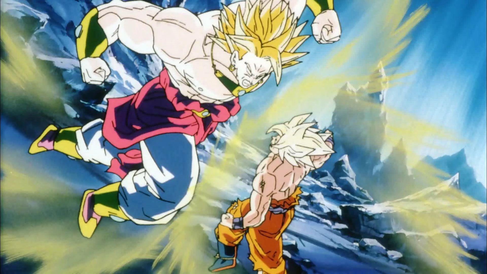 Dragon Ball Z Goku Vs Broly Wallpapers Wallpaper Cave