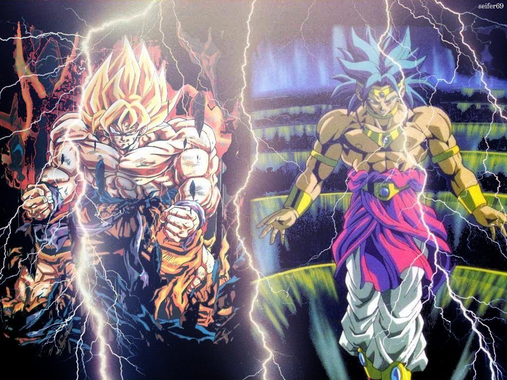 Dragon Ball Z Goku Vs Broly Wallpapers