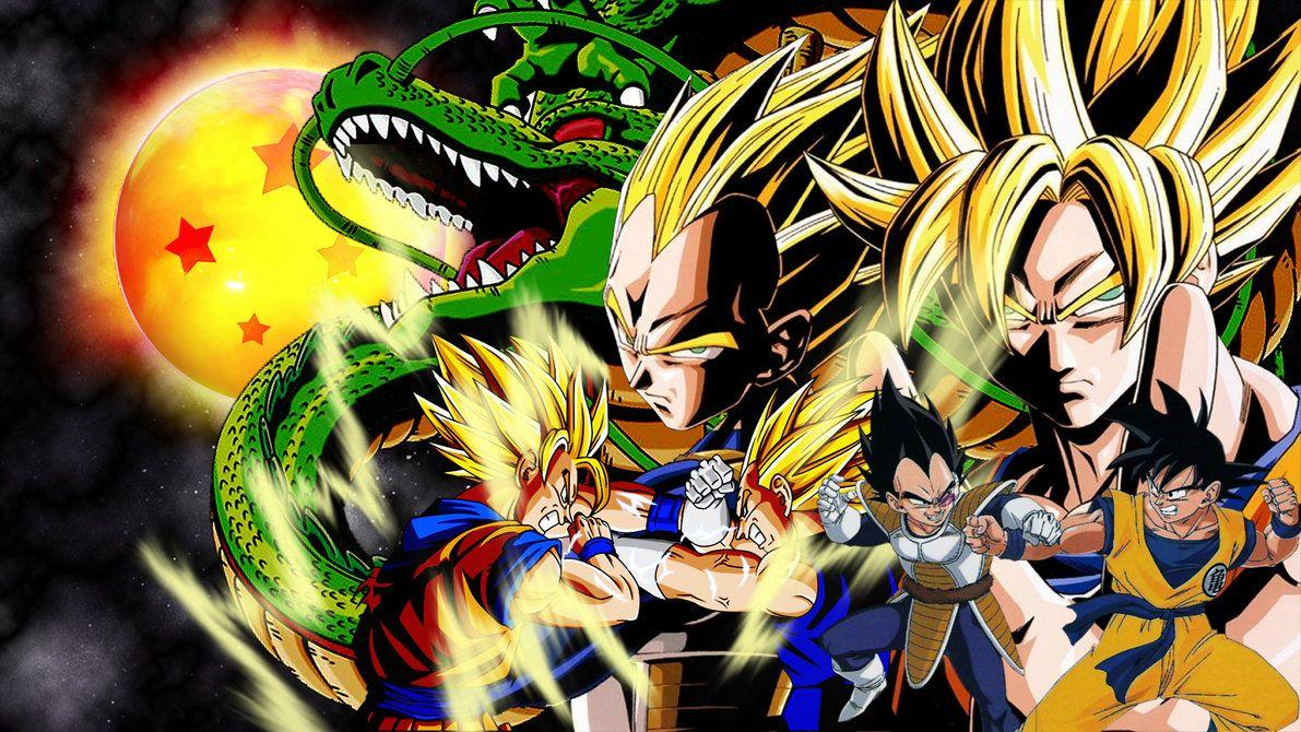 Goku Vs Vegeta Wallpaper By VuLC4no On DeviantArt