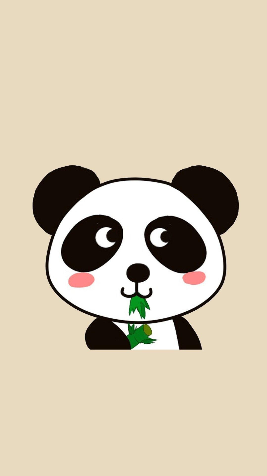 Kawaii Tare Panda Wallpaper ·①