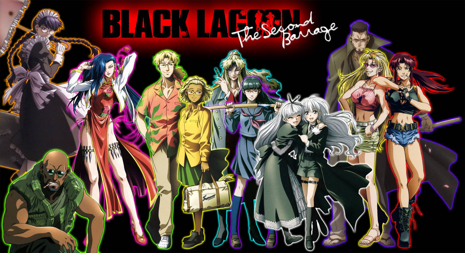 Anime Wallpapers Black Lagoon Wallpaper Cave