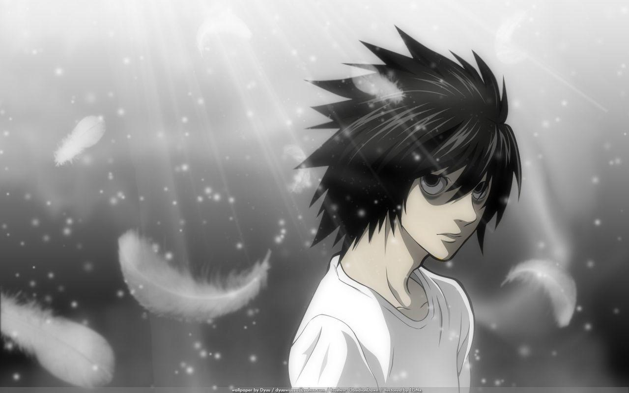 Death Note L Wallpapers Hd Wallpaper Cave