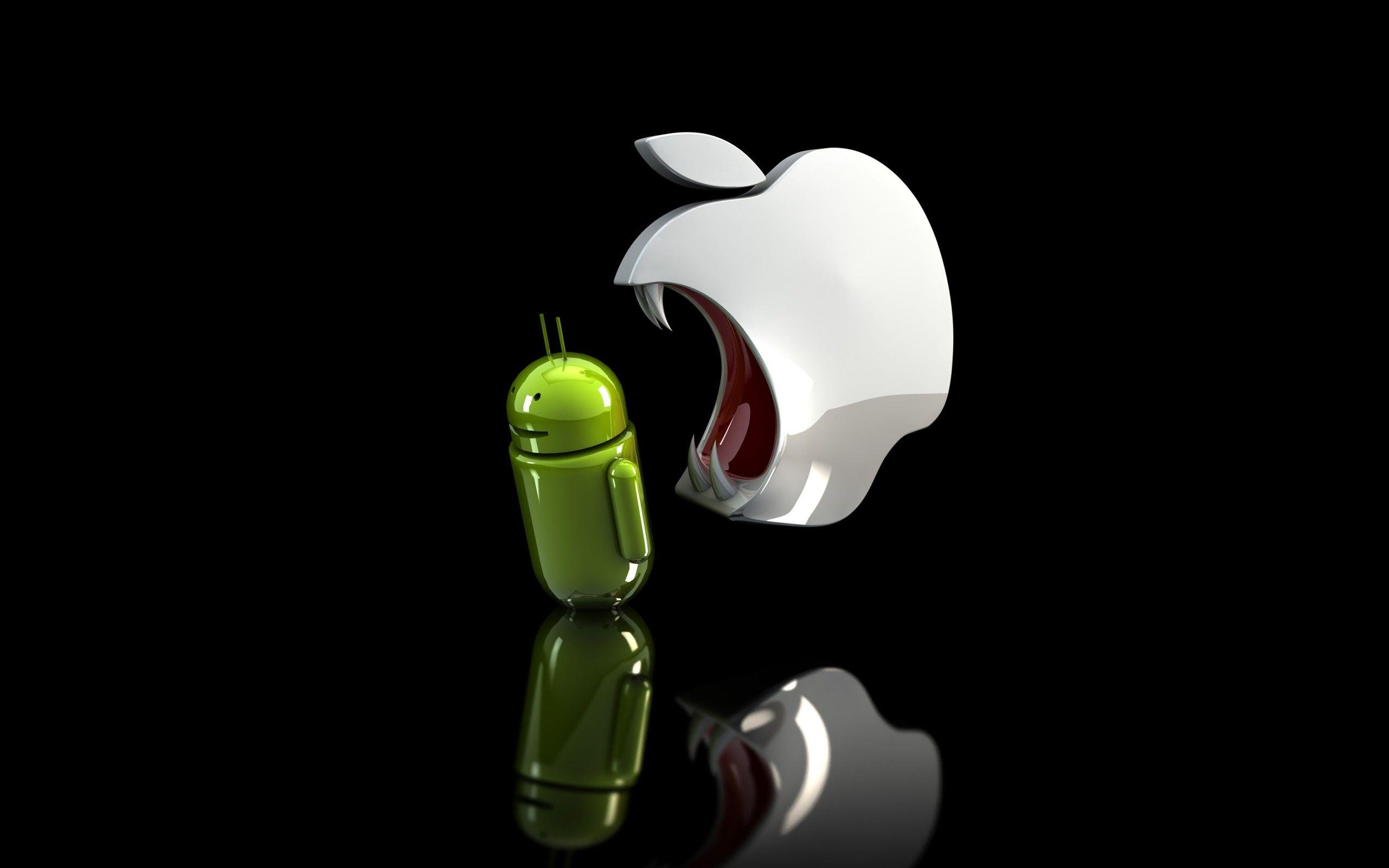 Android Vs Apple Hd Wallpapers Wallpaper Cave