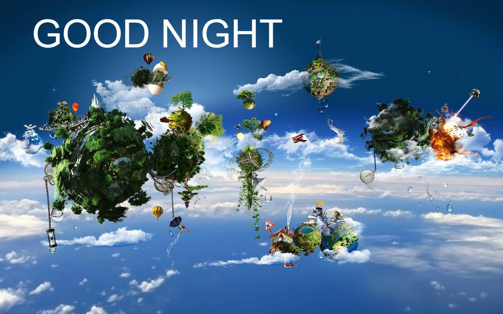 Good Night 3d Wallpapers Wallpaper Cave