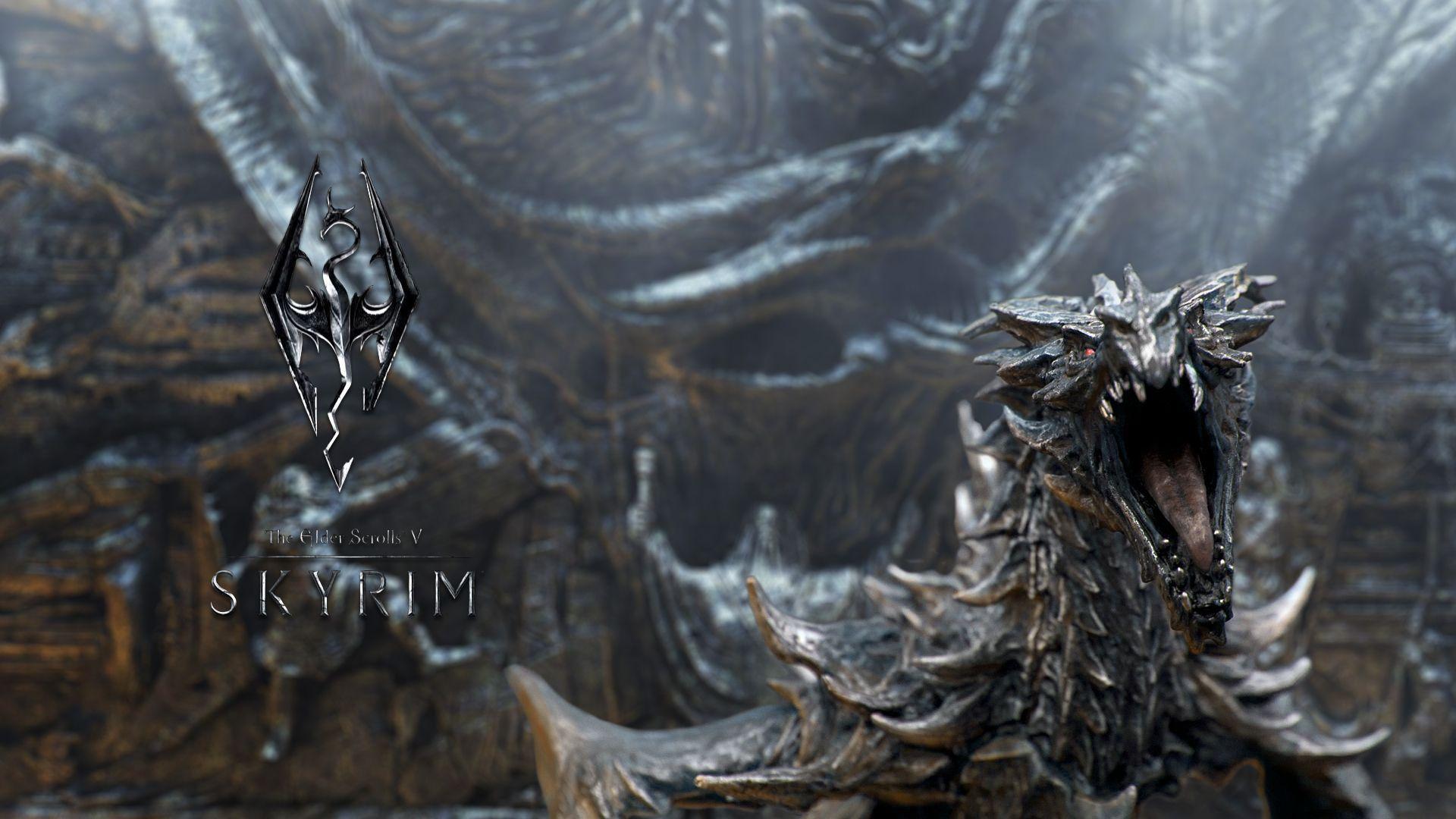 Skyrim Dragonborn 6167 Wallpaper