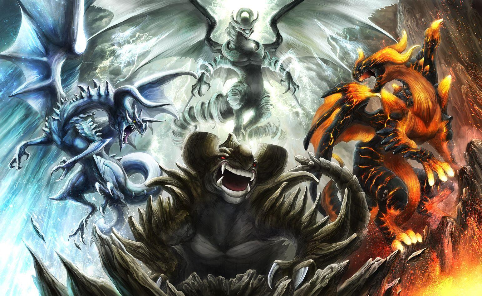 Yugioh Dragons Wallpapers Wallpaper Cave