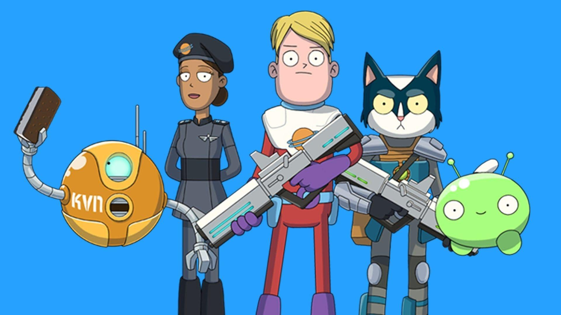 "The Soda Parlor's Olan Rogers' ""Final Space"" cartoon picked up by"