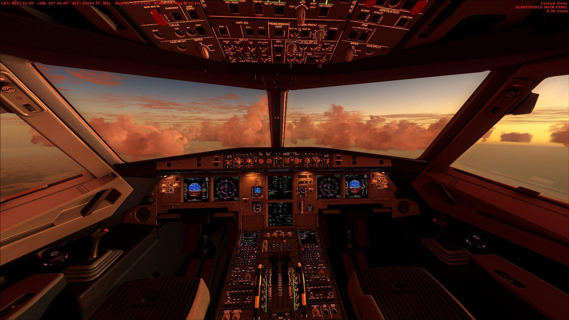 Airbus Cockpit Wallpapers - Wallpaper Cave