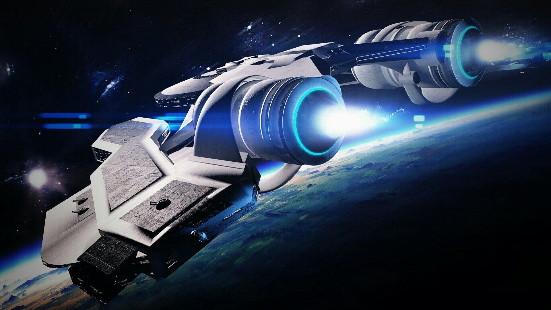 Spaceship Wallpapers, Gorgeous Wallpapers