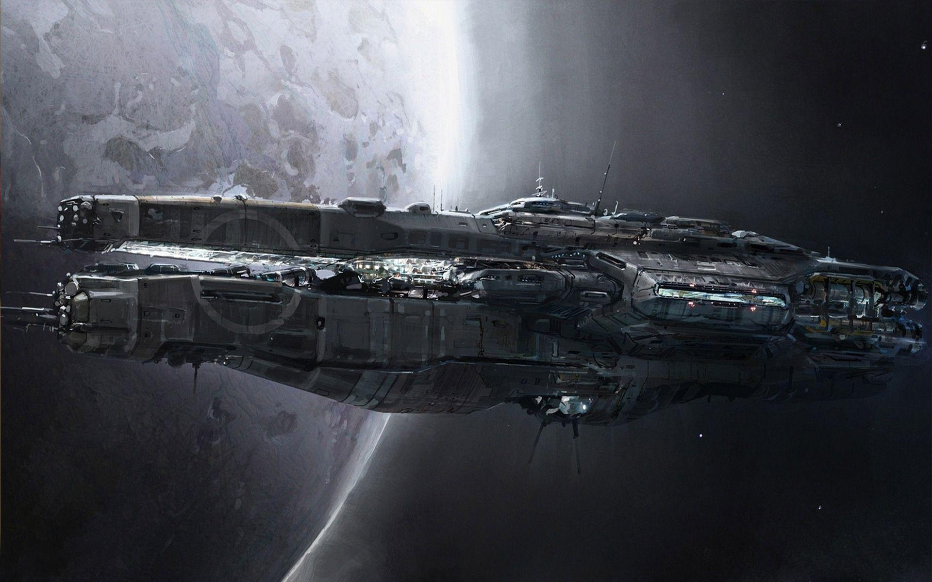 Sci Fi Spaceship wallpapers