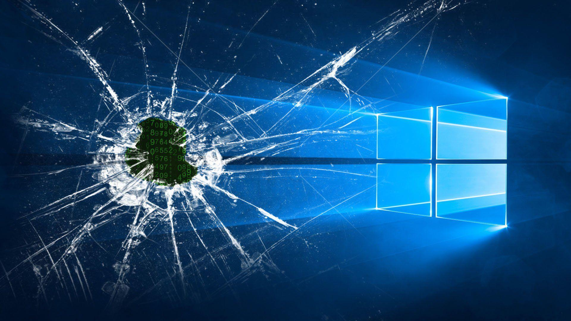 Cracked Windows Backgrounds Wallpaper Cave