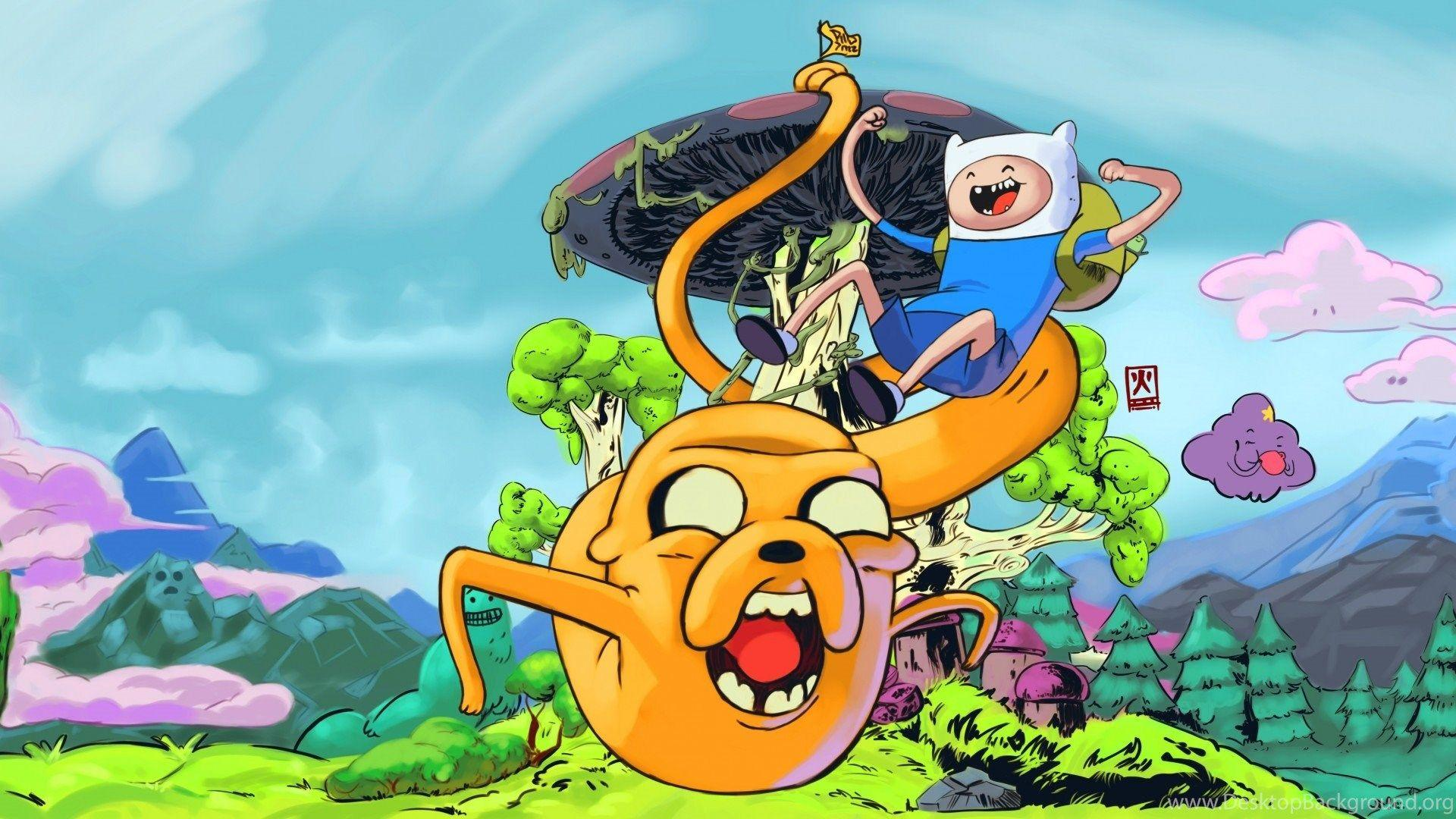 Adventure Time Computer Wallpapers Hd Wallpaper Cave