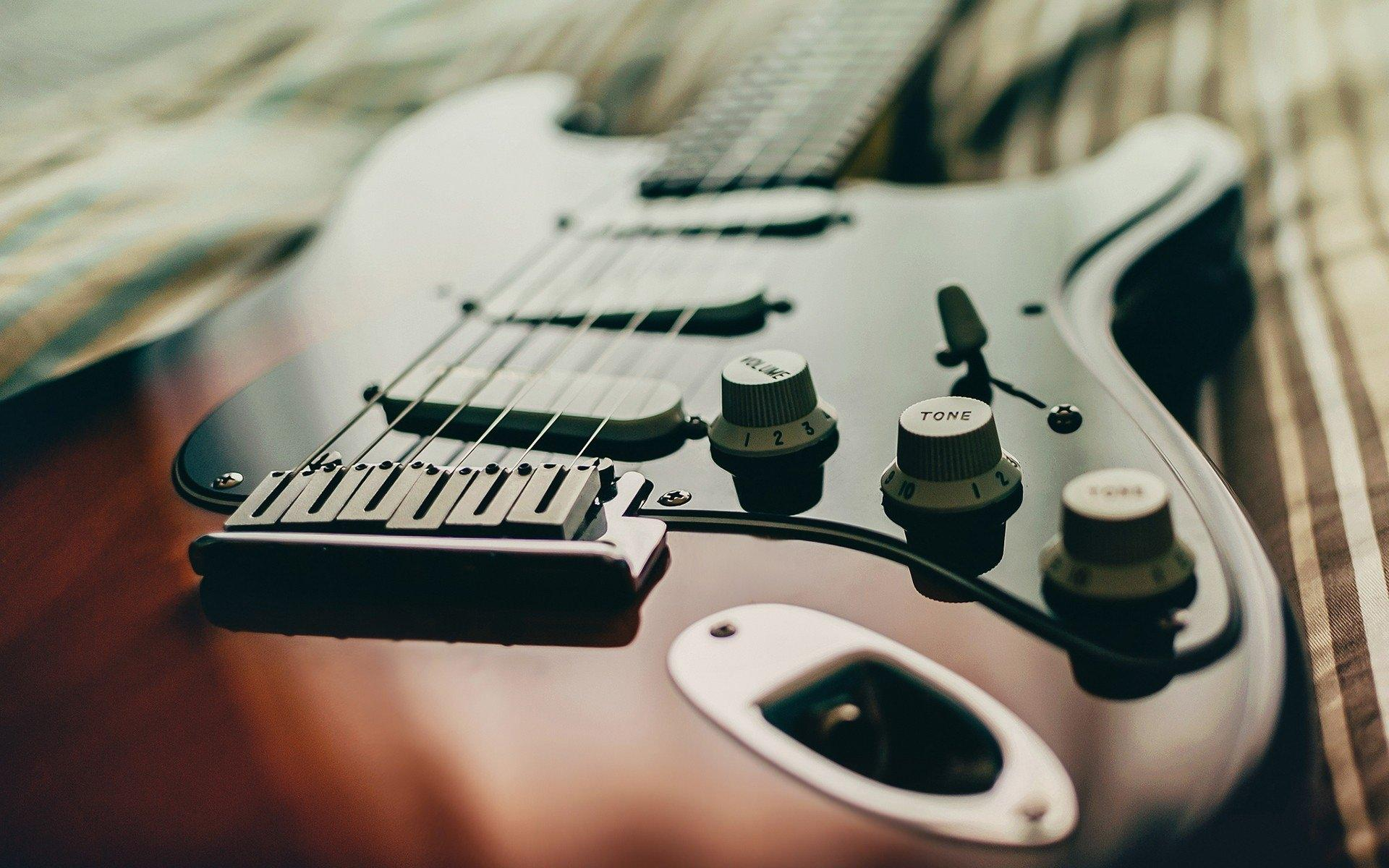 Photography of electric guitar HD wallpaper | HD Latest Wallpapers