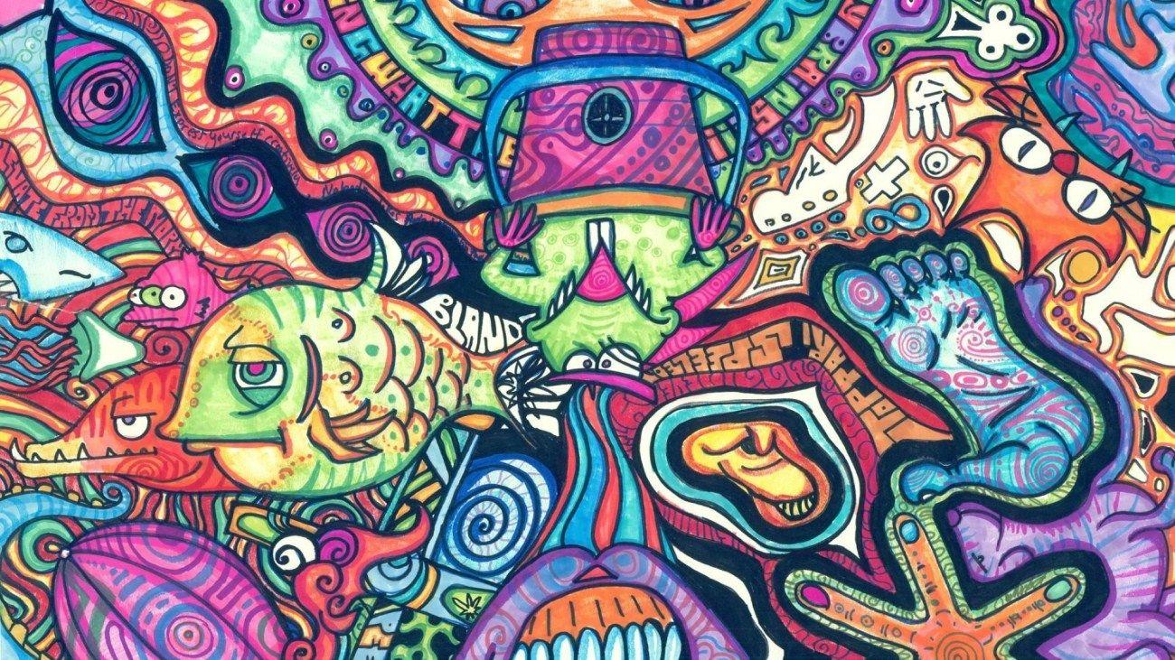 Trippy Psychedelic Wallpapers Wallpaper Cave