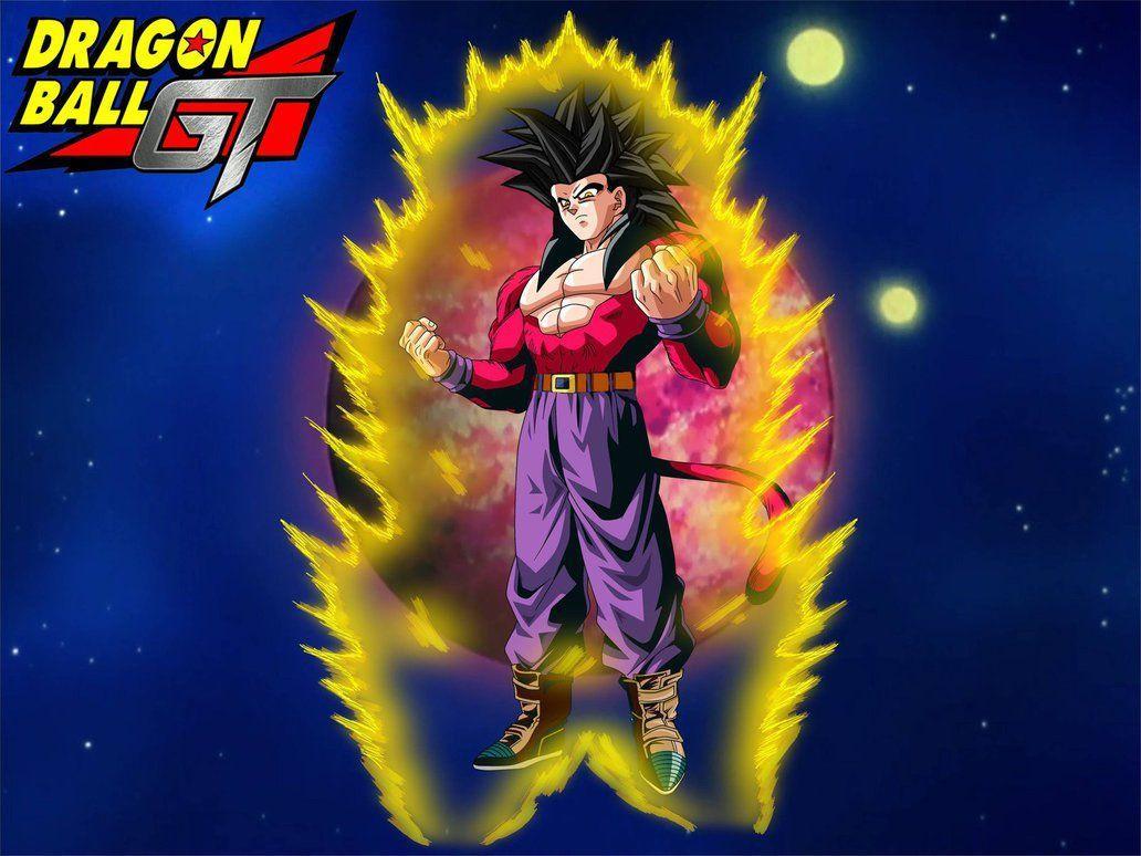 Son Goku Ssj4 Wallpapers Hd Wallpaper Cave