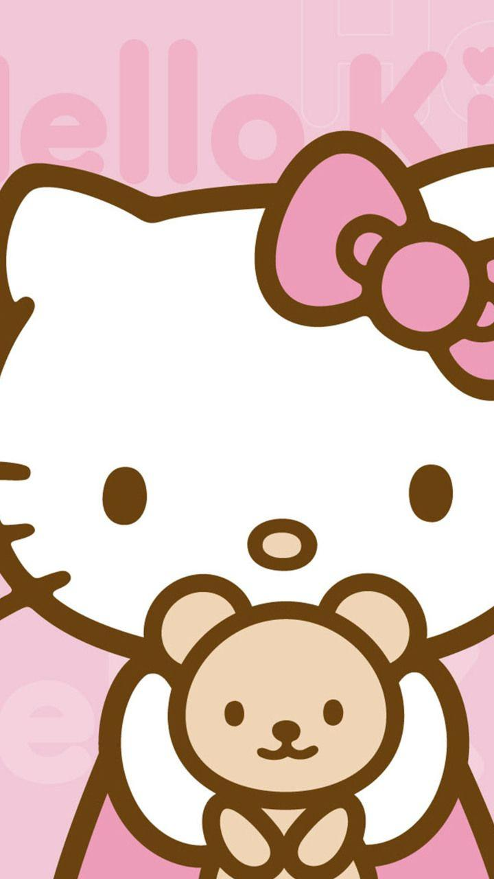 Foto Foto Wallpapers Hello Kitty Unryj Android Wallpaper Cave