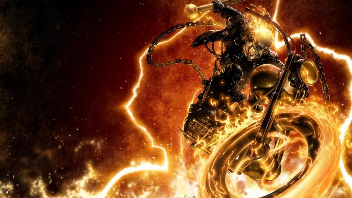 Ghost Rider 2 Blue Flame Wallpapers - Wallpaper Cave