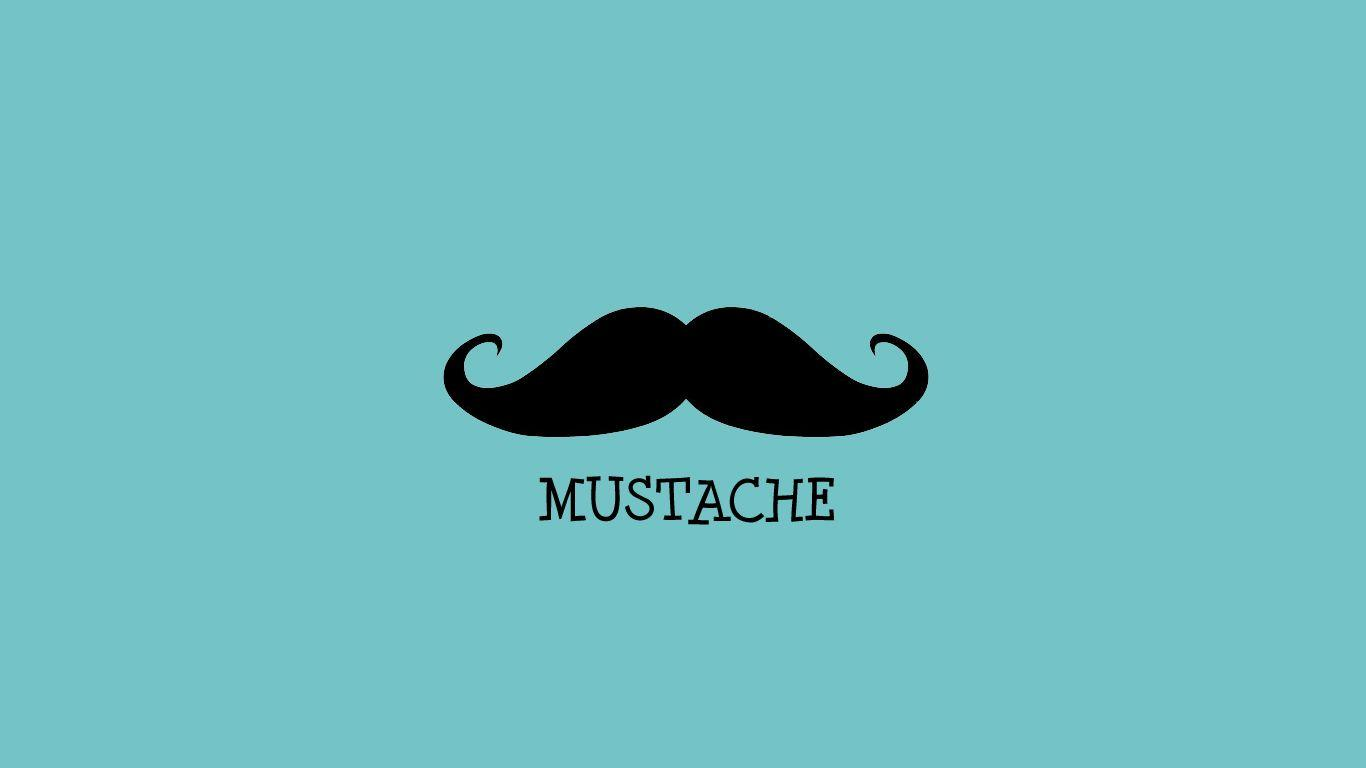 Cute Mustache Wallpaper 24