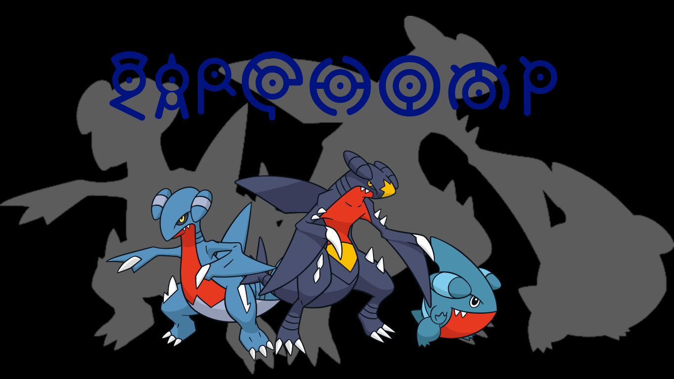 Garchomp Backgrounds by JCast639
