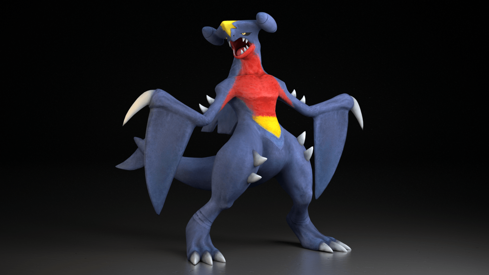 445. Garchomp by TheAdorableOshawott