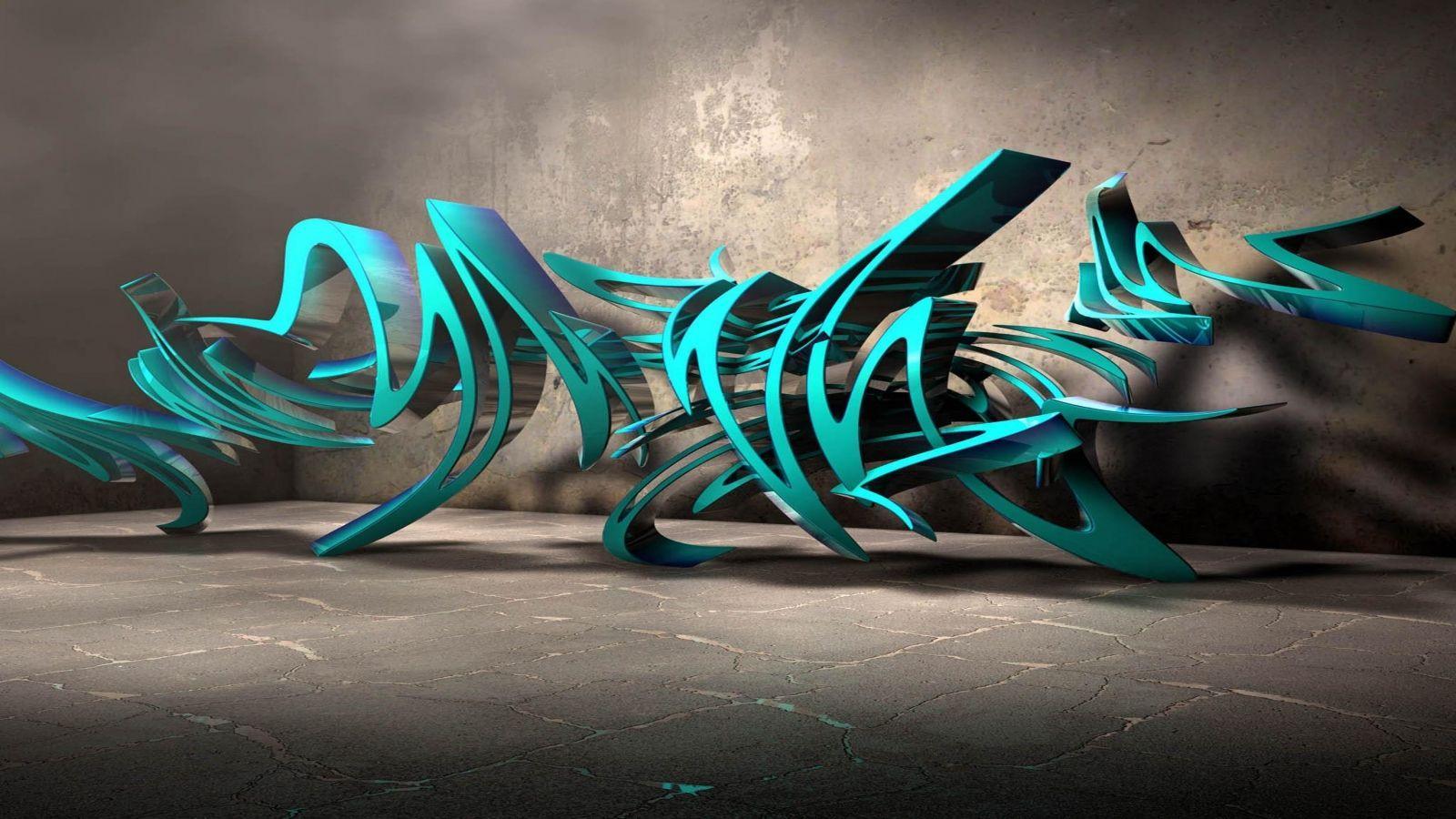 Graffiti creator 3d free 3d graffiti wallpaper wallpapersafari