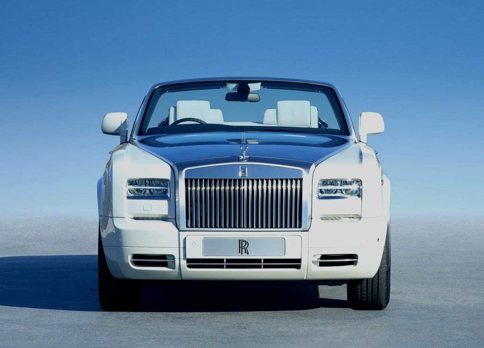 2016 Rolls Royce Phantom Drophead Coupe Wallpapers HD Photos