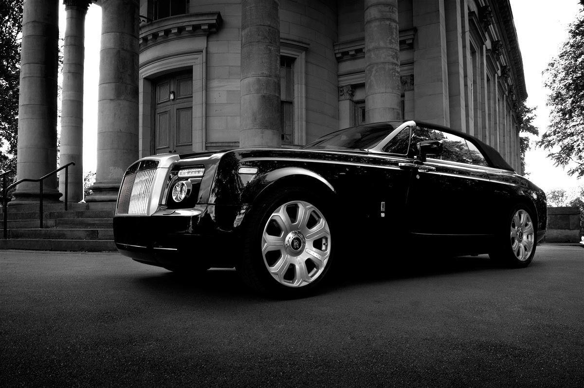 Sports Cars: Rolls Royce phantom drophead coupe wallpapers