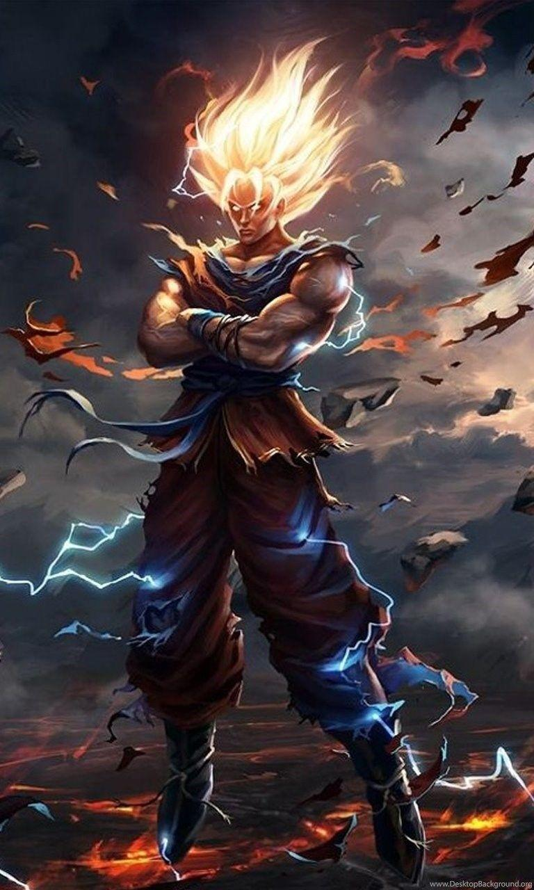 Dragon Ball Wallpapers Iphone Wallpaper Cave