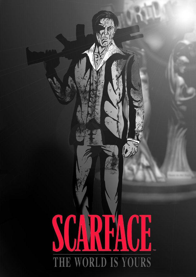 DA58 Scarface The World Is Yours Wallpapers