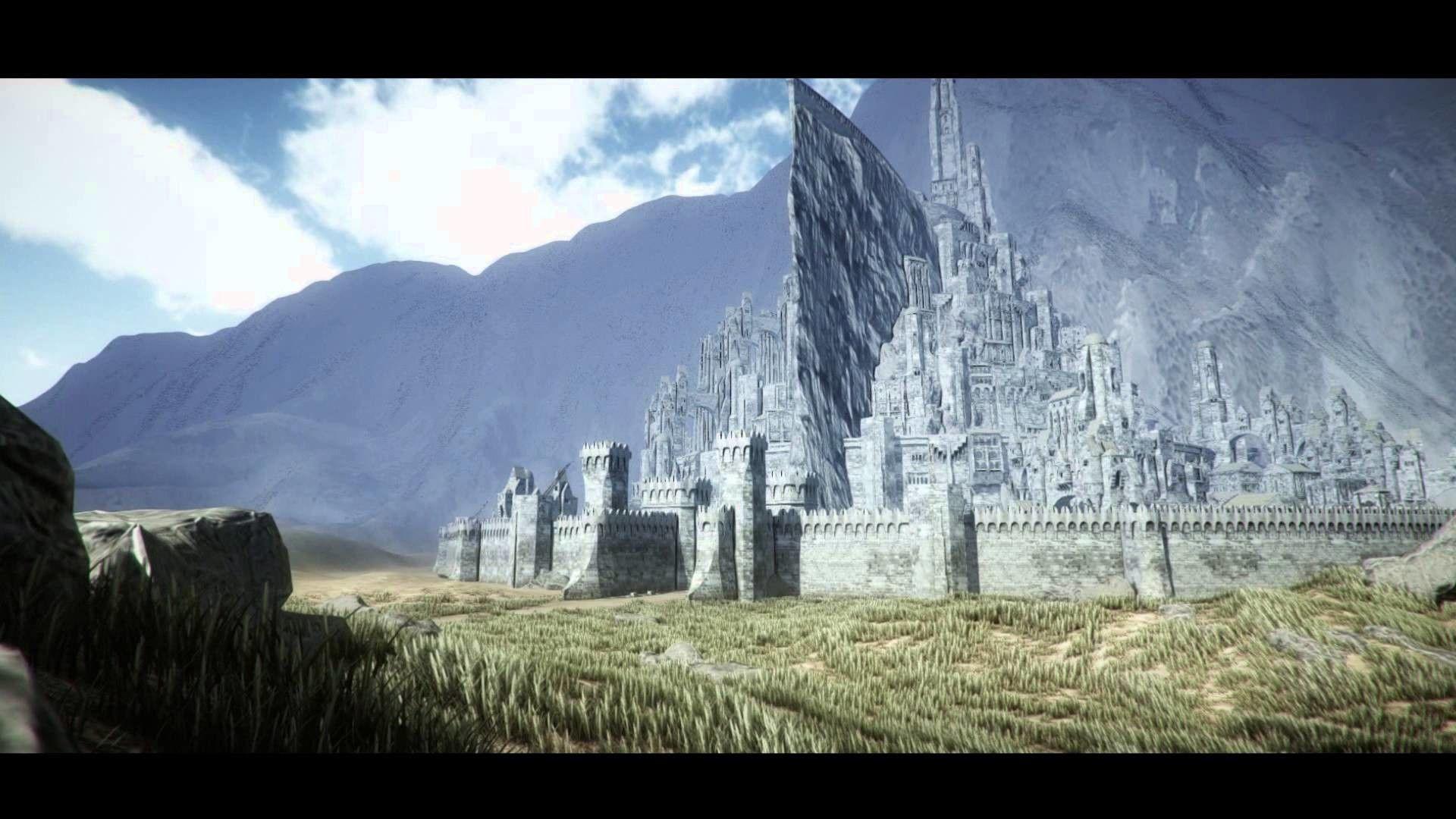 Wallpapers Minas Tirith Wallpaper Cave