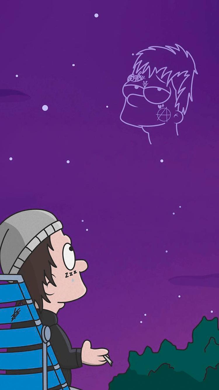 Lil Peep Iphone Wallpaper Tumblr