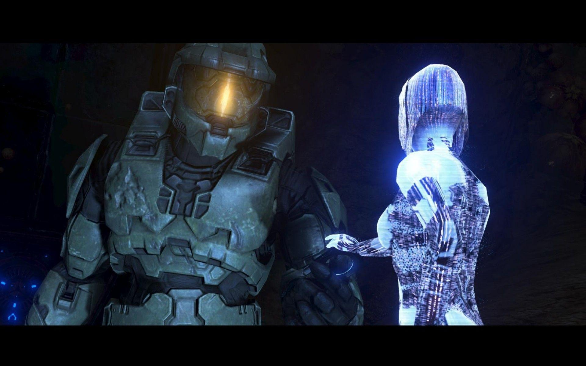 Cortana Y Master Chief Wallpapers Wallpaper Cave