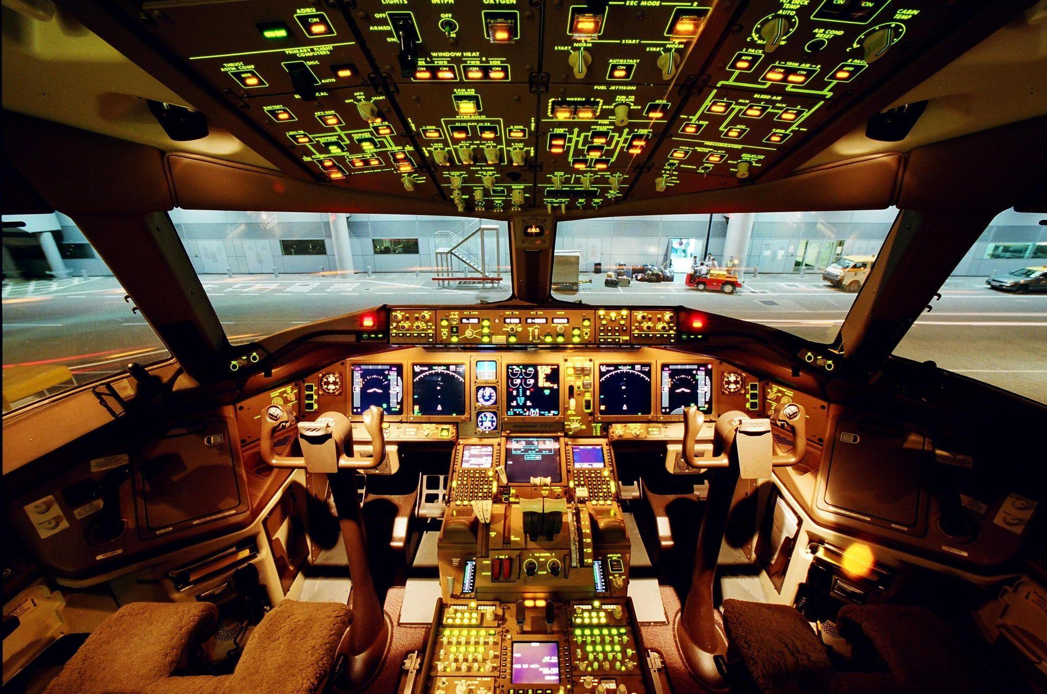 Aircraft cockpit — 15