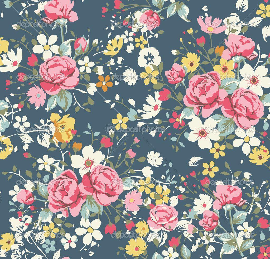 Vintage Floral Pattern Vintage Floral Wallpaper Pattern Cool