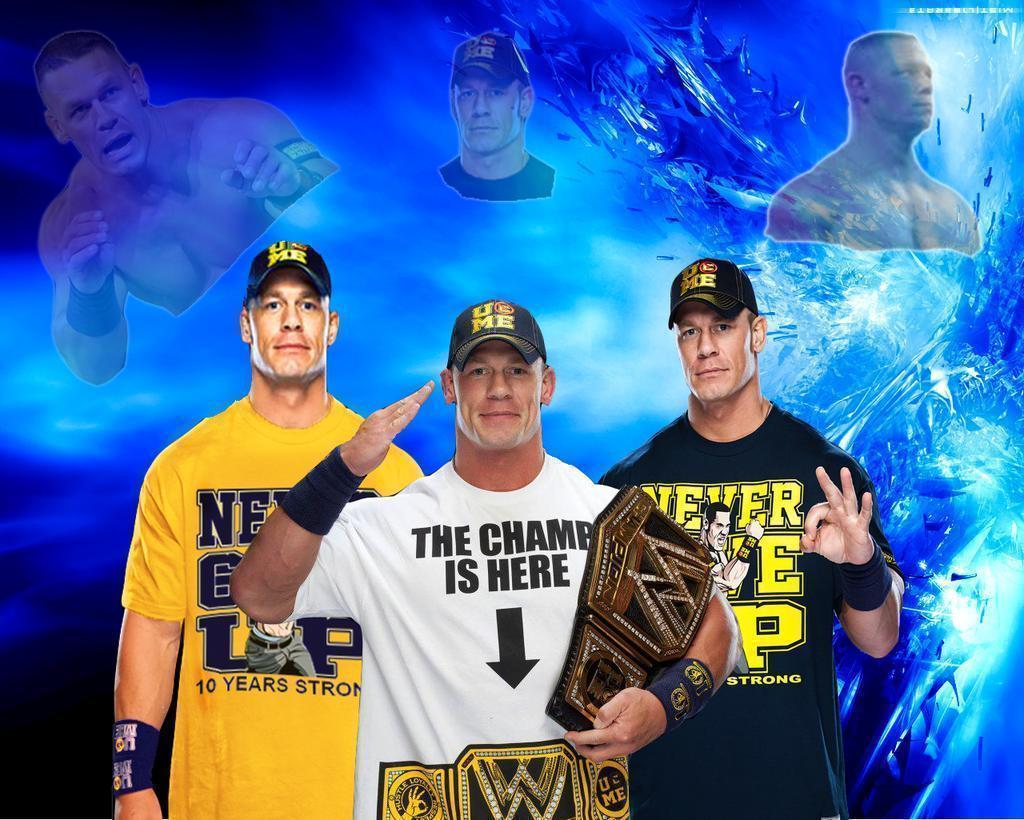 John Cena Wwe Champion Wallpapers Wallpaper Cave