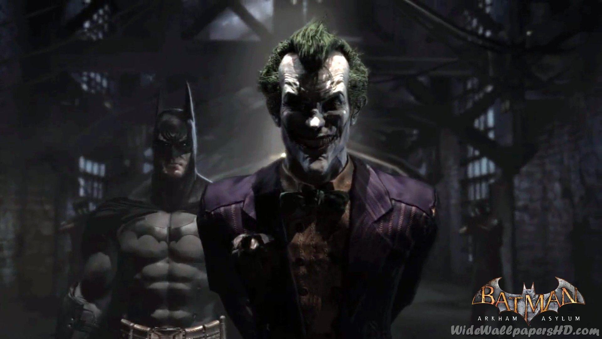 Joker Wallpapers Arkham Asylum Wallpaper Cave