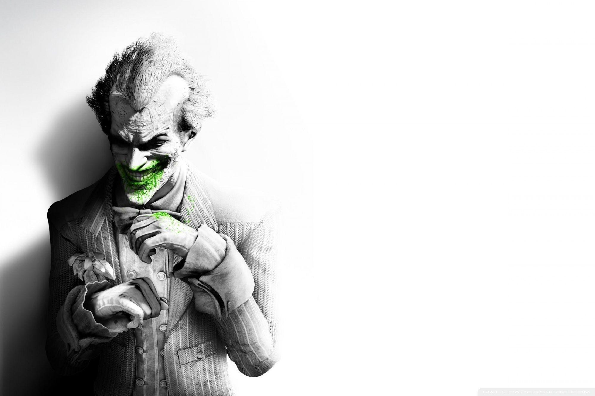 Batman Arkham Asylum Joker Wallpapers - Wallpaper Cave